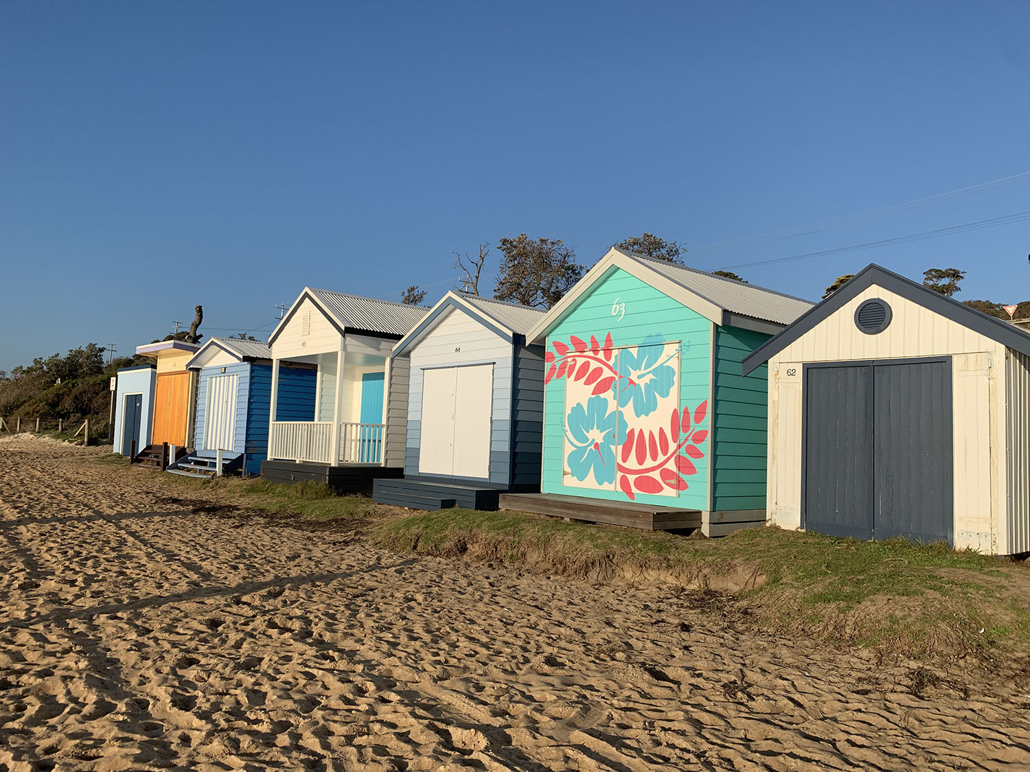 bathing boxes mt martha
